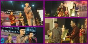 Pak Syafii Maarif menerima Global Harmony Award